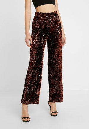 YASWHITNEY PANT - Pantalones - black