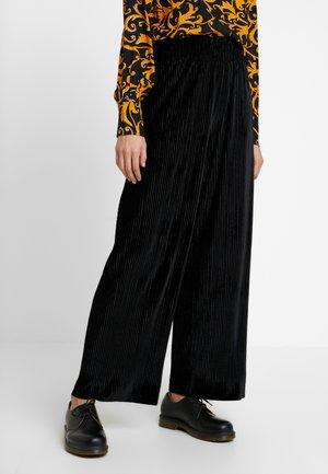 YASALISSA PANT - Kalhoty - black