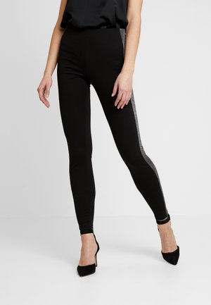 YASCAMILLE PARTY - Leggings - black