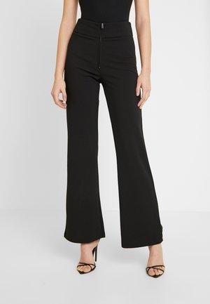 YASVICTORIA WIDE PANT - Pantalon classique - black
