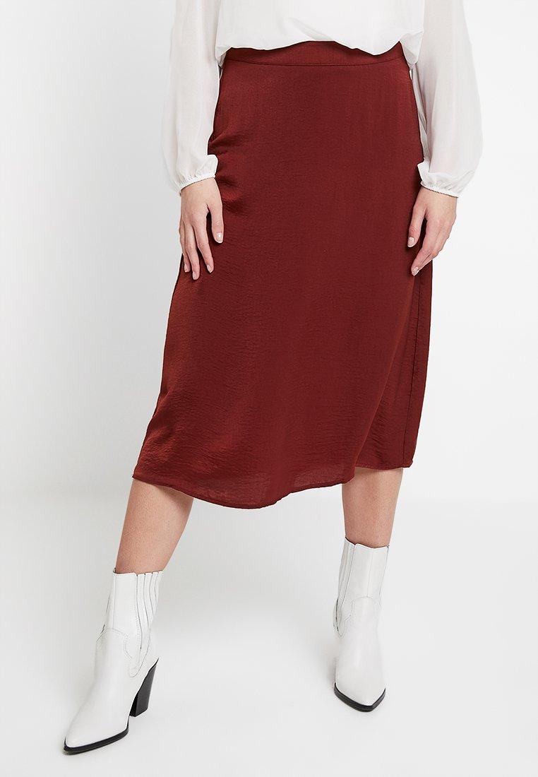 YAS - YASSPAGO SKIRT - A-line skirt - mocha bisque