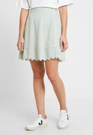 YASJENNY SKIRT - A-line skirt - frosty green