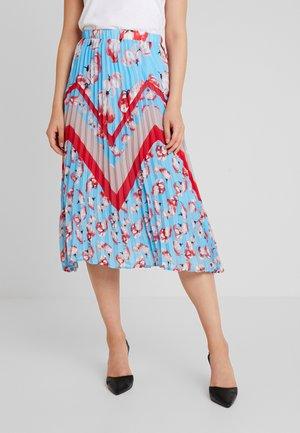 YASVAMILLA PLEATED SKIRT - A-line skirt - bonnie blue/vamilla