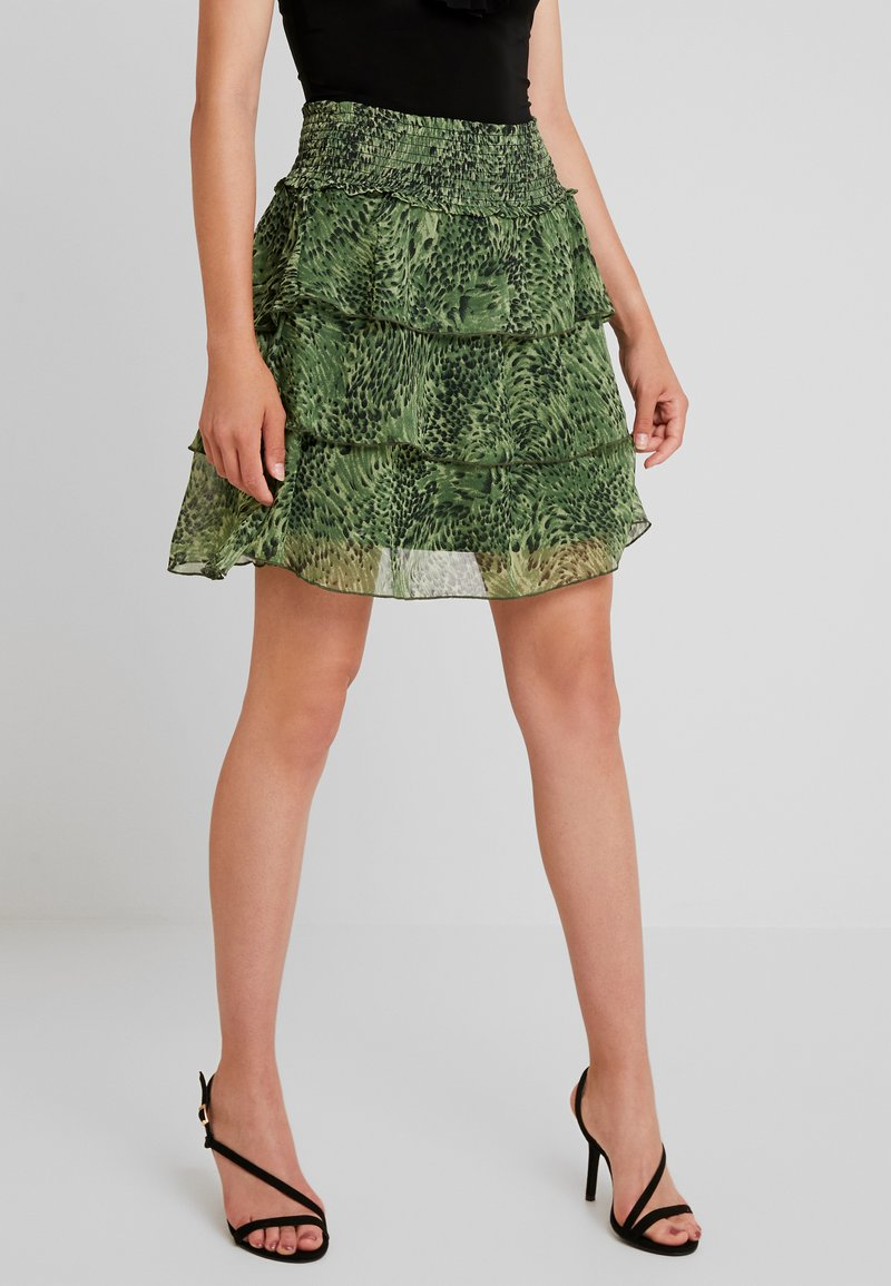 YAS - YASSHANNEN SKIRT - A-Linien-Rock - chive