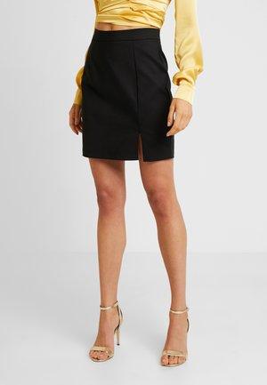 YASBLAKE SKIRT - Mini skirt - black