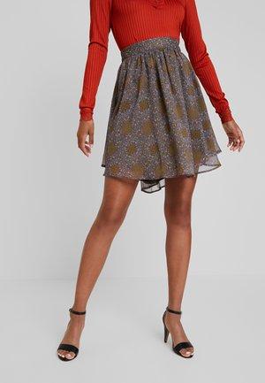 YASNICHOLE SKIRT - A-line skirt - military olive