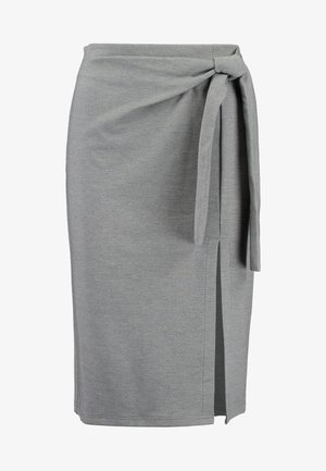 YASCALLI SKIRT - Blyantnederdel / pencil skirts - medium grey melange