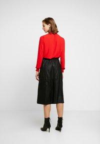YAS - A-line skirt - black - 2