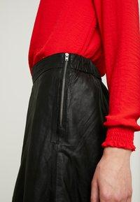 YAS - A-line skirt - black - 4