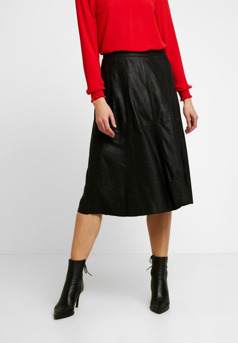 YAS - A-line skirt - black