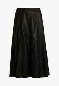 YAS - A-line skirt - black - 3