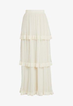 YASFRANCES SKIRT - Długa spódnica - star white