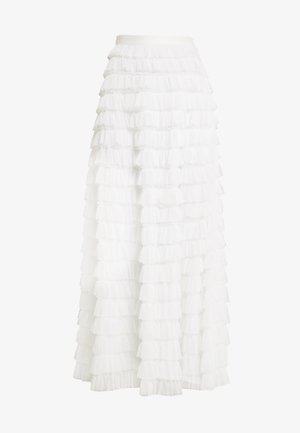 YASCHRISTINA SKIRT - Długa spódnica - star white