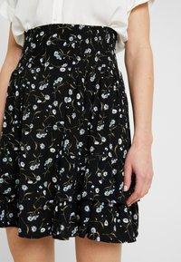 YAS - DAISY SKIRT - Áčková sukně - black - 4