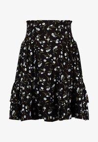YAS - DAISY SKIRT - Áčková sukně - black - 3