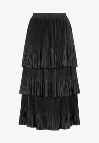 YAS - MIT STUFEN PLISSIERTER - Veckad kjol - black - 4