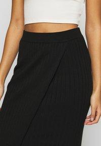 YAS - YASLINA HW SKIRT - Pencil skirt - black - 4