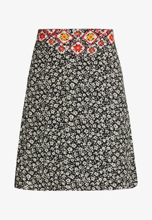 YASSAFFIRA SKIRT FEST - Pencil skirt - black