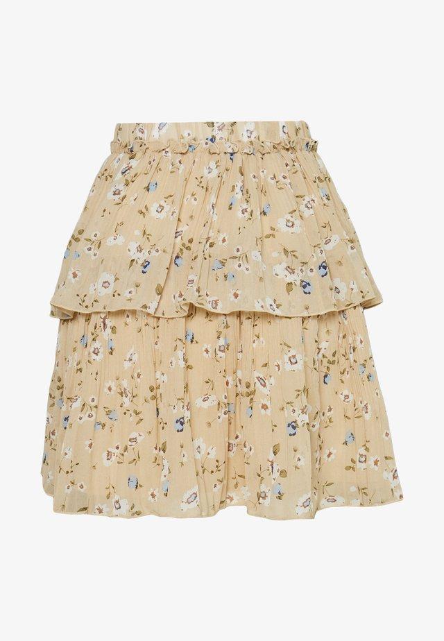 YASFLORIA SKIRT - Mini skirt - oatmeal