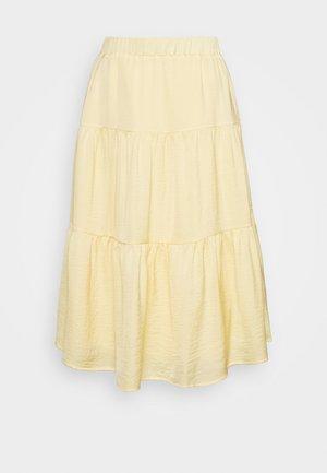 YASELIN SKIRT - Áčková sukně - golden haze