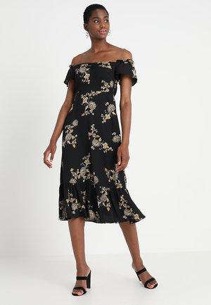 YASMARILLA OFF SHOULDER DRESS  - Vestido informal - black