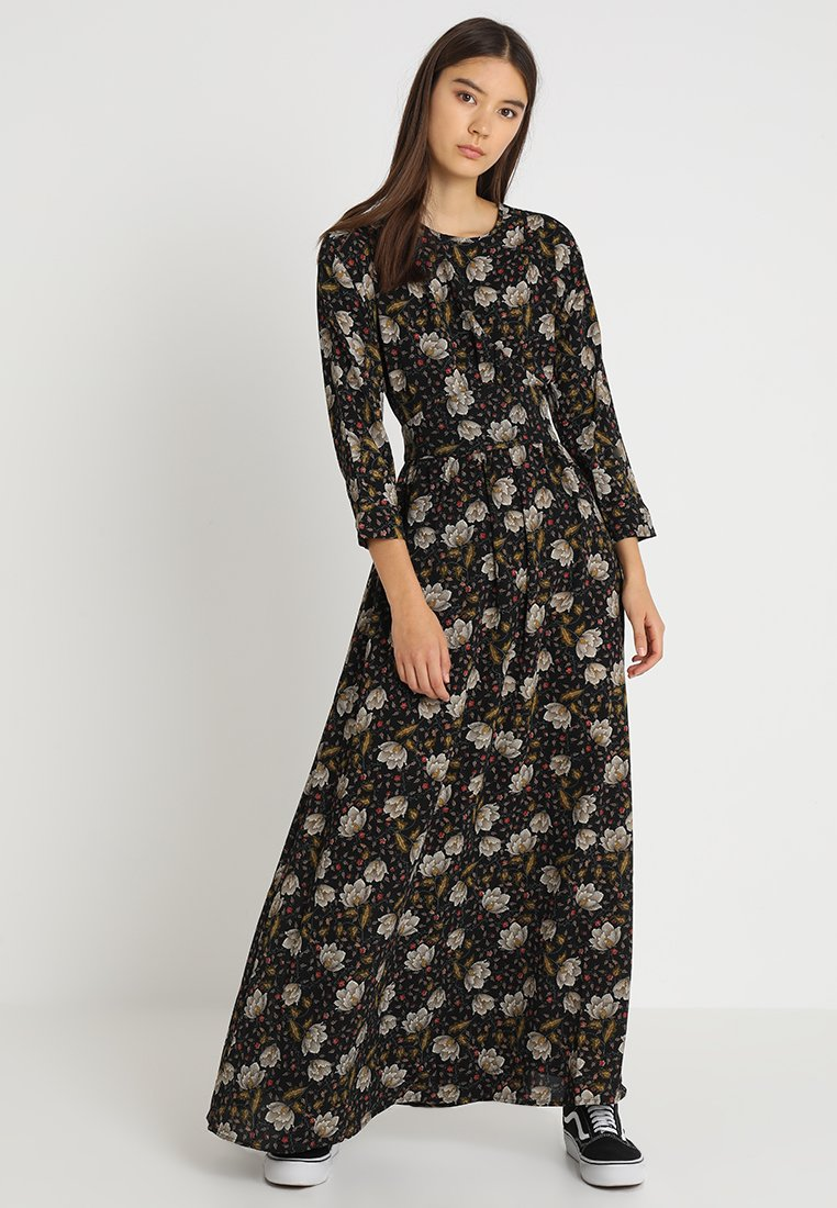 YAS - YASAWSOME 3/4 DRESS - Maxikleid - black