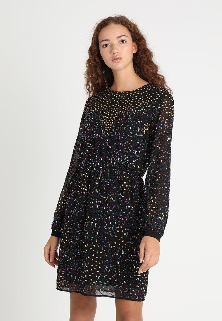 YAS - YASBEADA MULTI SEQUIN DRESS - Cocktail dress / Party dress - black