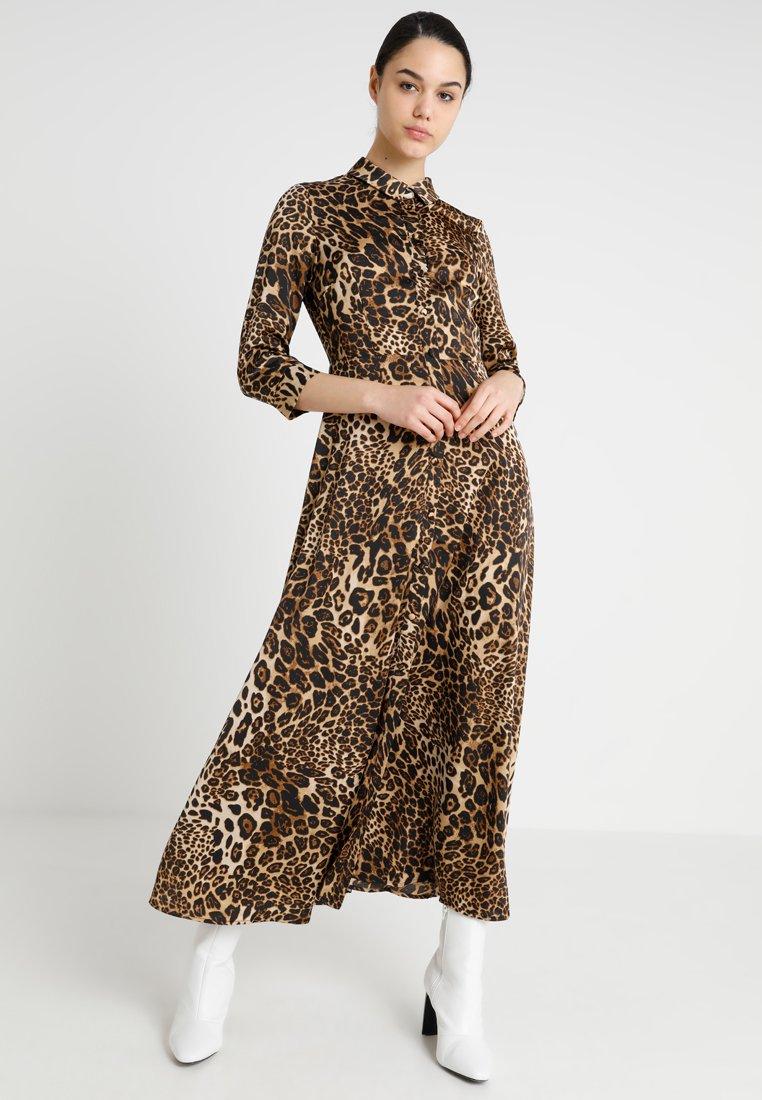 YAS - YASANIMA LONG DRESS - Blusenkleid - black