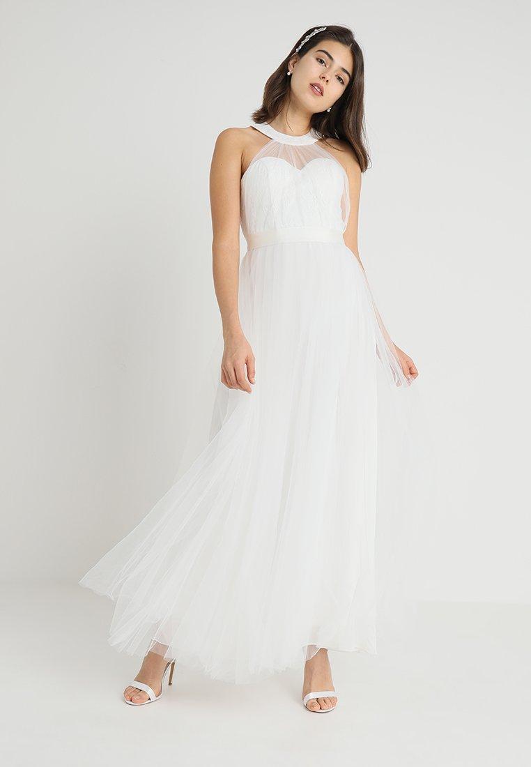 YAS - BRIDAL YASWONDER HALTERNECK DRESS - Ballkleid - star white