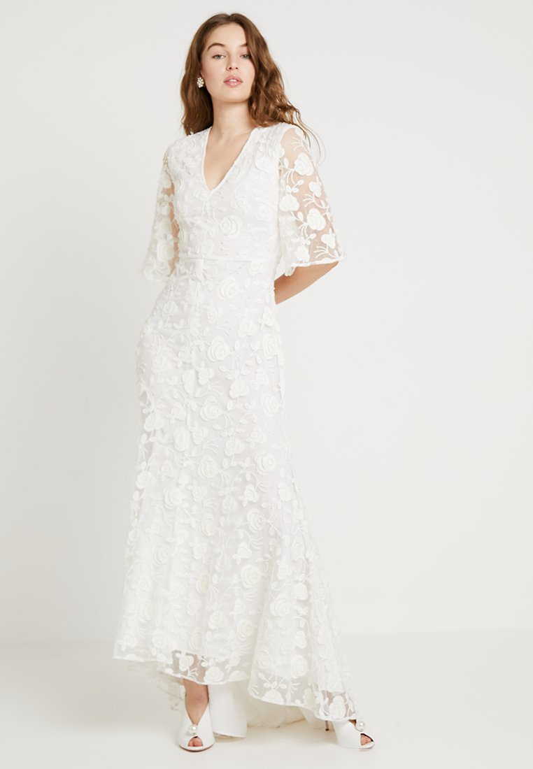 YAS - BRIDAL YASMESSI MAXI DRESS - Occasion wear - star white
