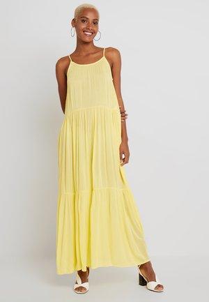 YASSANDY ANCLE DRESS - Maxi-jurk - yellow cream