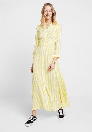 YASSAVANNA LONG SUMMER DRESS - Maxi-jurk - yellow cream