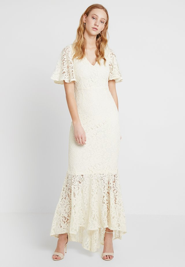 YASRADIC MAXI DRESS - Iltapuku - antique white