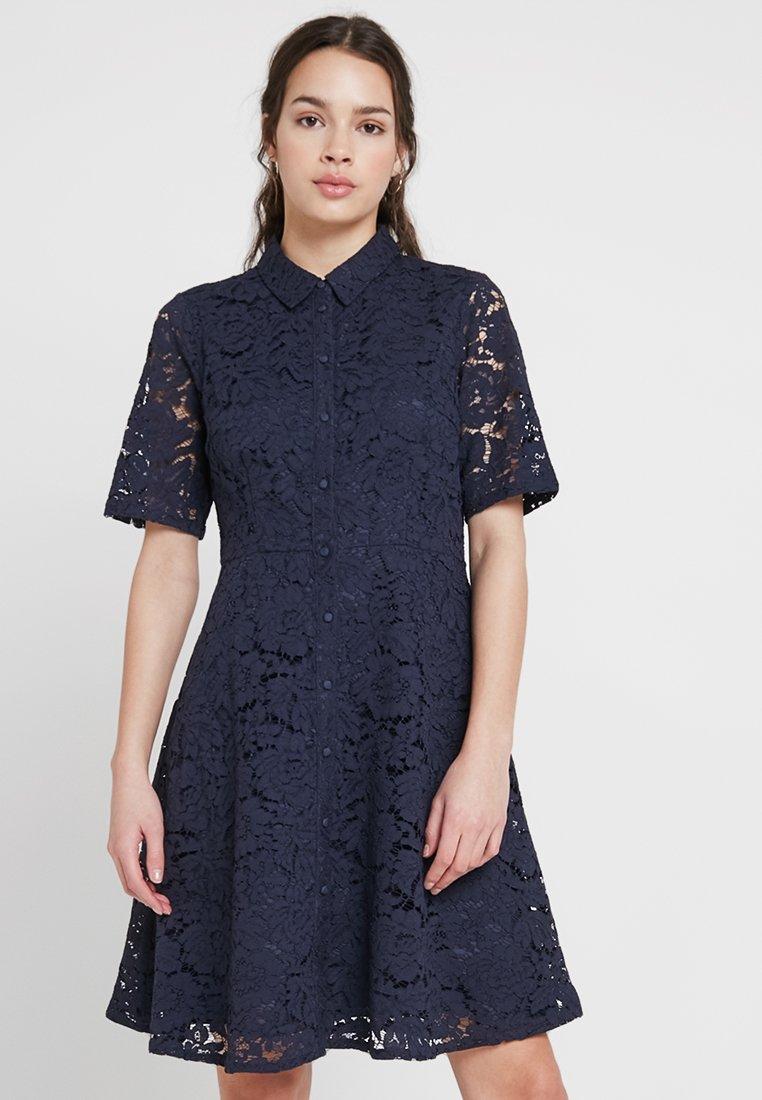 YAS - YASBLONDE - Shirt dress - dark sapphire