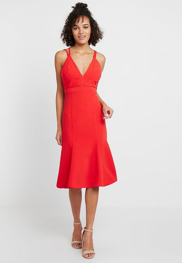 YASRISKA STRAP DRESS - Juhlamekko - high risk red
