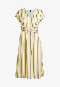 YAS - YASPOSITANO DRESS - Denní šaty - star white - 6