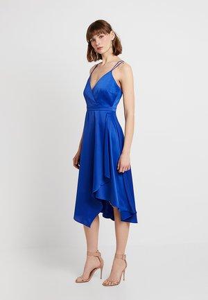 YASSALLI STRAP DRESS - Cocktailkjole - mazarine blue