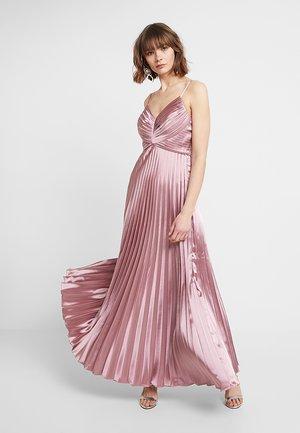 YASKAREN PLEATED DRESS - Abito da sera - dusty rose