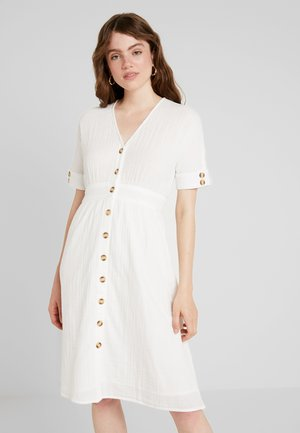 YASMEG DRESS ICONS - Shirt dress - star white