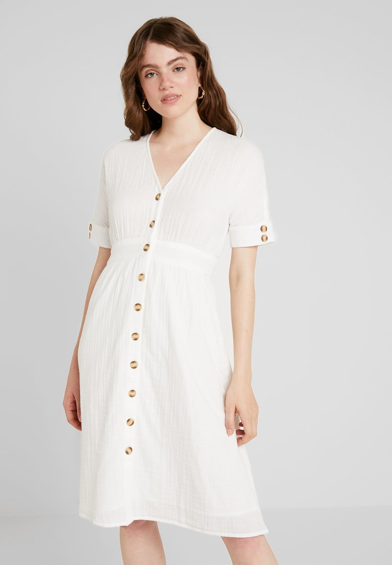 YAS - YASMEG DRESS ICONS - Košilové šaty - star white