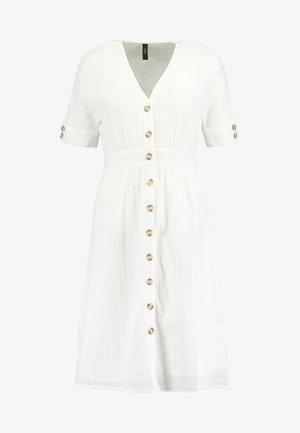 YASMEG DRESS ICONS - Shirt dress - star white