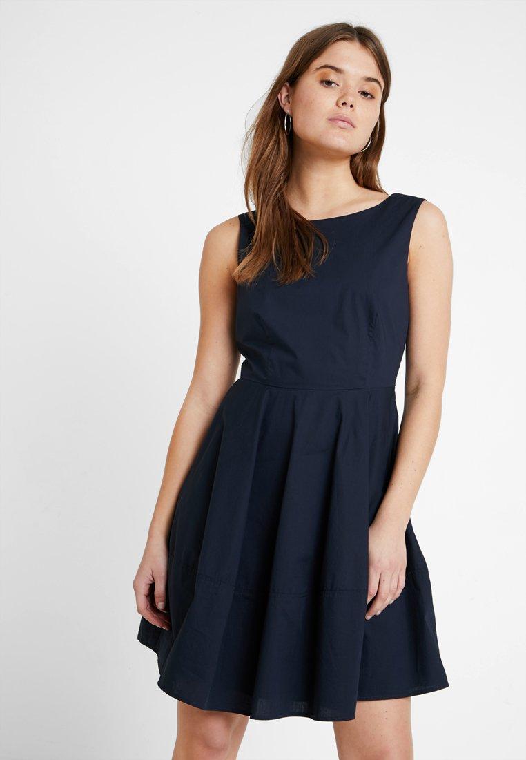 YAS - YASBOWY  DRESS - Sukienka letnia - navy blazer
