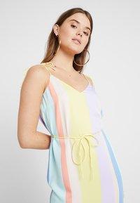 YAS - YASPASTELLA DRESS - Freizeitkleid - yellow cream/pastella - 3