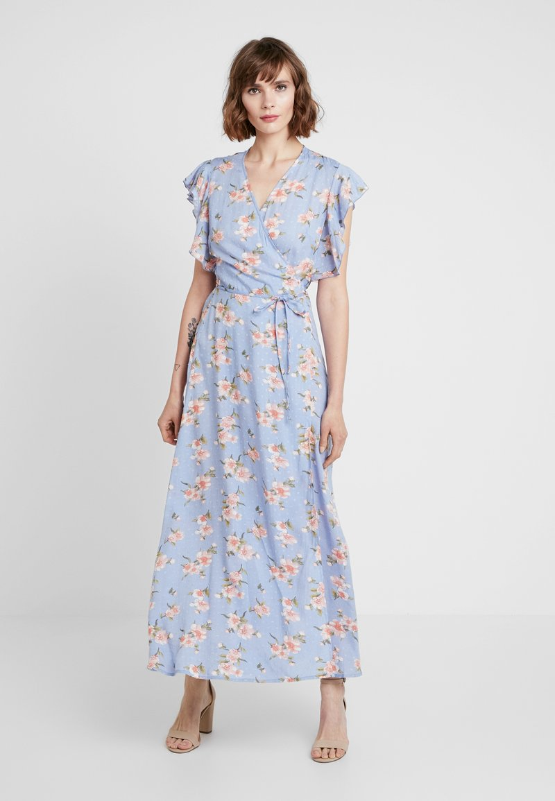YAS - YASMALLA ANKLE DRESS - Maxikjoler - bel air blue