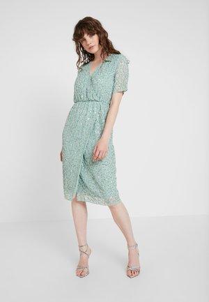 YASBEADO SEQUIN DRESS - Cocktail dress / Party dress - granite green