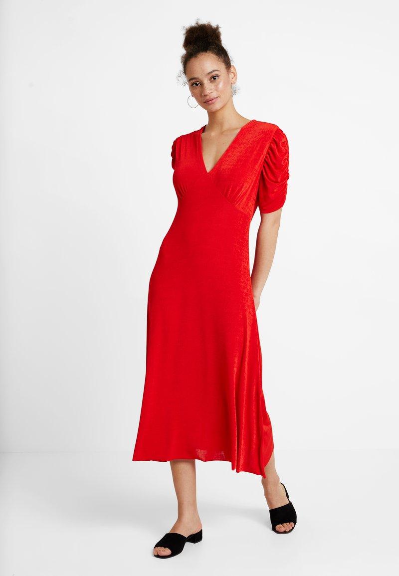 YAS - YASBALINA DRESS - Maxi dress - fiery red