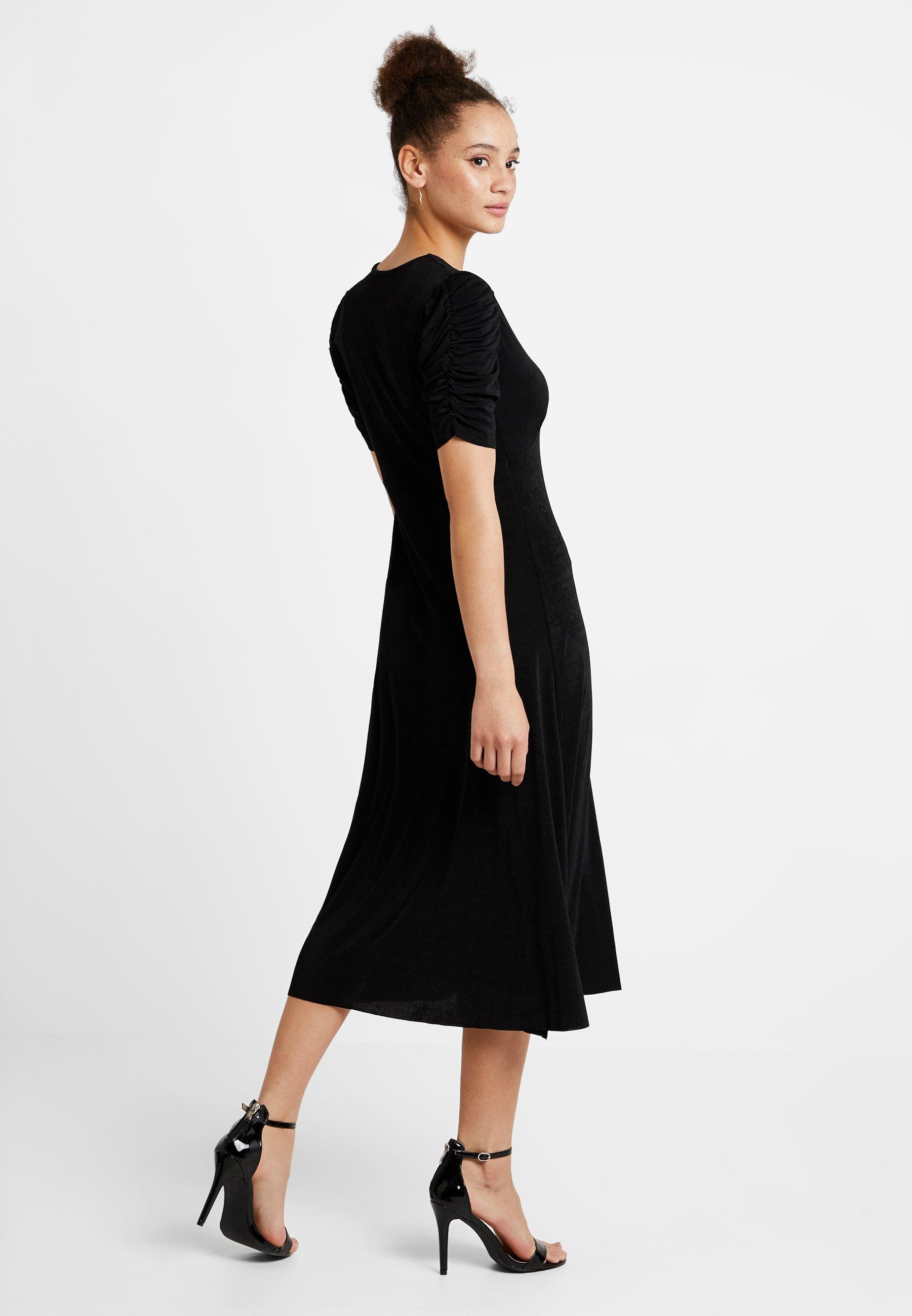 Yas Yas Longue DressRobe Black DressRobe Yasbalina Yasbalina 4Lj5qA3R