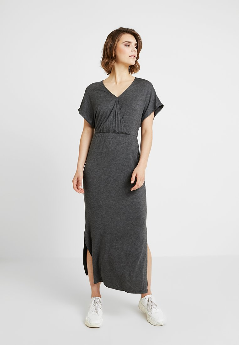 YAS - YASWINEA DRESS - Vestido largo - dark grey melange