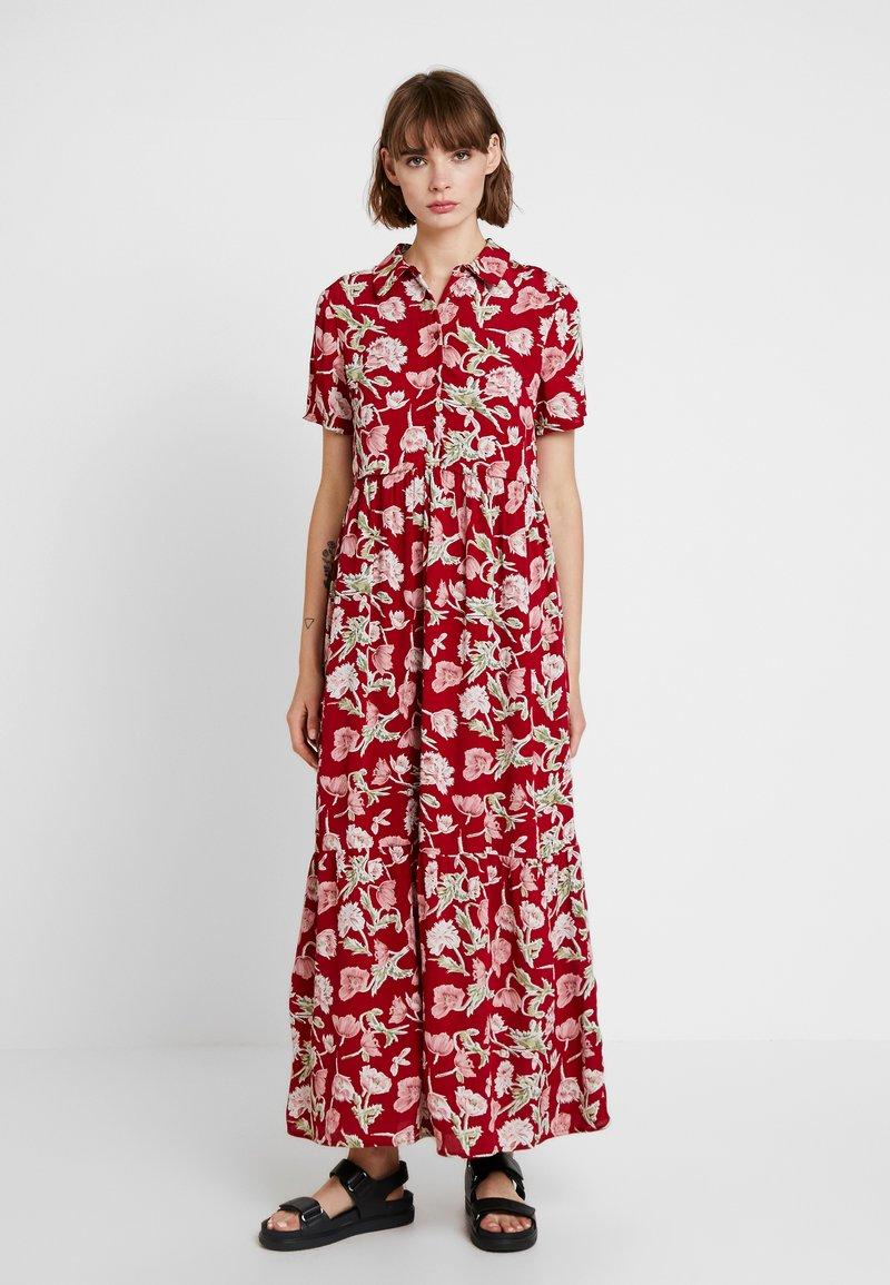 YAS - YASREEA DRESS - Maxikleid - rio red