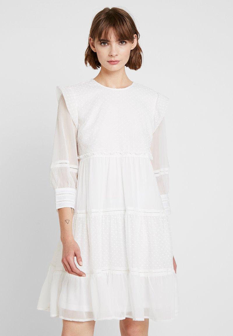 YAS - YASPALI 3/4 DRESS - Robe d'été - star white